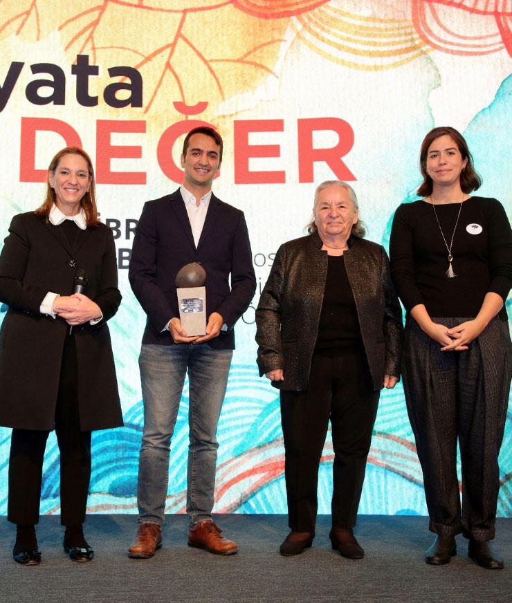 İbrahim Bodur Sosyal Girişimcilik Ödülünü Kazandık